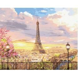 Прекрасное небо Парижа
