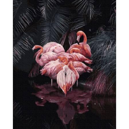 Картина по номерам Фламинго-2 GX36040, Rainbow Art