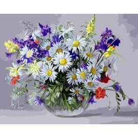 Вазочка полевых цветов