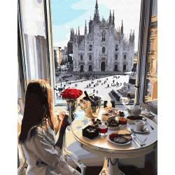 Завтрак с видом на собор
