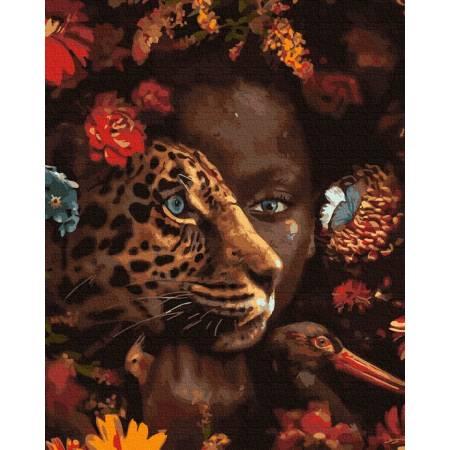 Картина по номерам Мир джунглей  GX33399, Rainbow Art