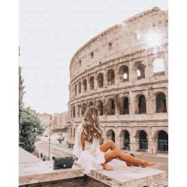 Путешественница в Риме