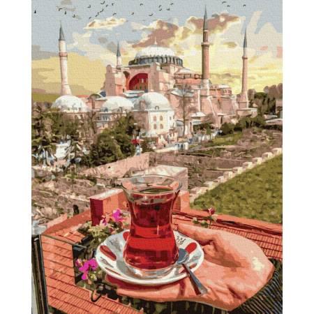 Картина по номерам Чай в Стамбуле  GX36062, Rainbow Art