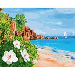 Цветущий берег
