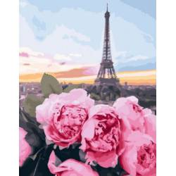 цветы в Париже