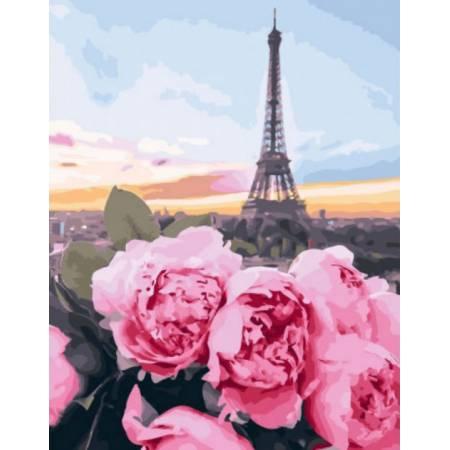 Картина по номерам цветы в Париже GX28562, Rainbow Art