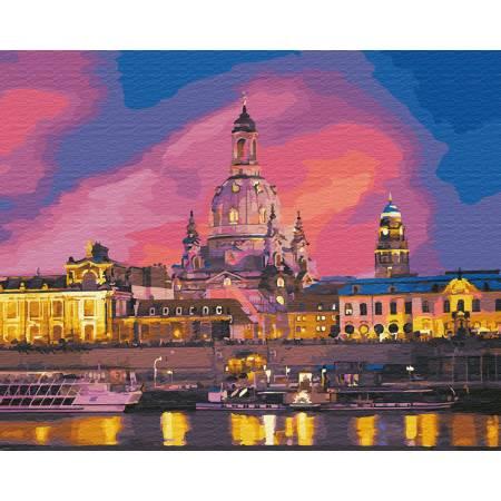 Картина по номерам Вечерний Дрезден GX28780, Rainbow Art