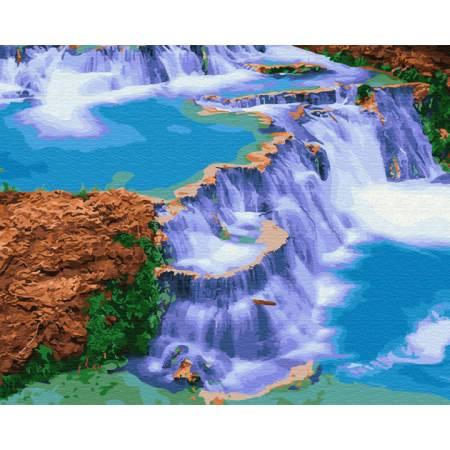 Картина по номерам Сказочный водопад  GX29460, Rainbow Art