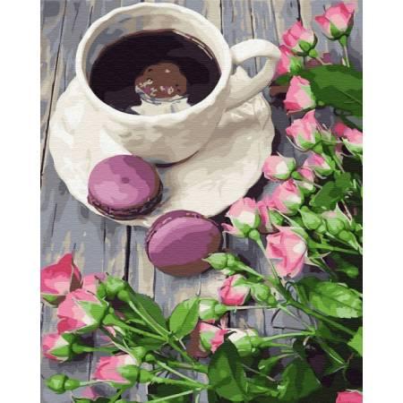 Картина по номерам Кофе со вкусом весны GX30990, Rainbow Art