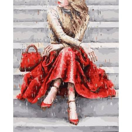 Картина по номерам Цвет настроения красный  GX30993, Rainbow Art