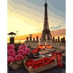 На крыше Парижа