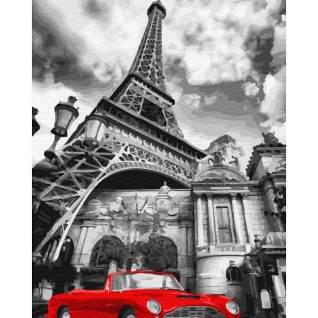 Картина по номерам красный цвет Парижа GX32129, Rainbow Art