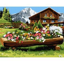 Цветущее место в горах