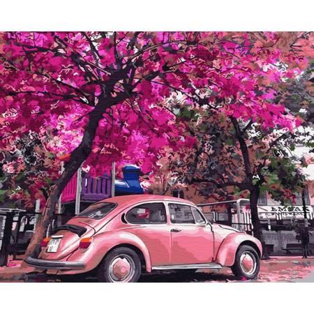 Цветущая парковка