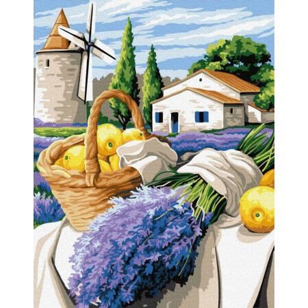 Картина по номерам Букет на обжинки  GX33233, Rainbow Art