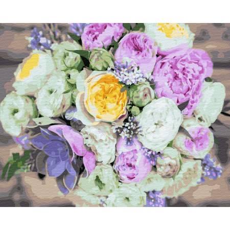 Букет разных цветов