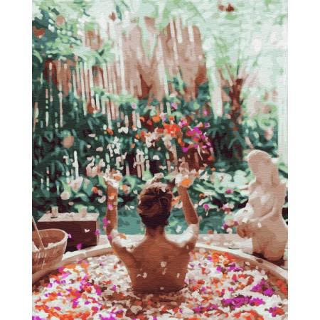Картина по номерам Цветочное Бали GX34167, Rainbow Art