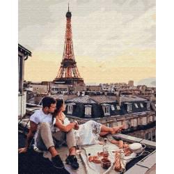 Чарующая панорама Парижа