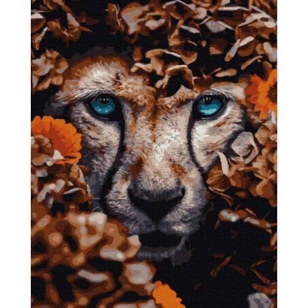 Картина по номерам Львиный взгляд GX35630, Rainbow Art