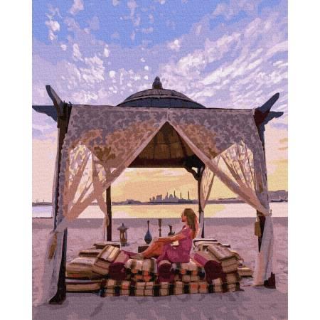 Картина по номерам Отдых на пляже GX36344, Rainbow Art