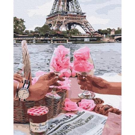 Картина по номерам Романтический Париж GX36348, Rainbow Art