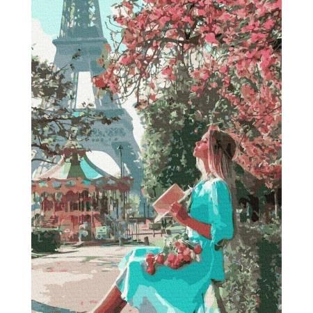 Картина по номерам Прогулка Парижем GX37201, Rainbow Art