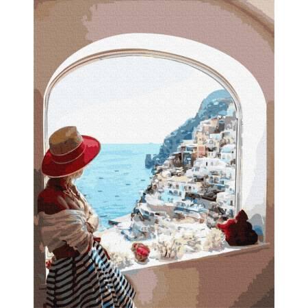 Картина по номерам Вид на Сицилию  GX31722, Rainbow Art
