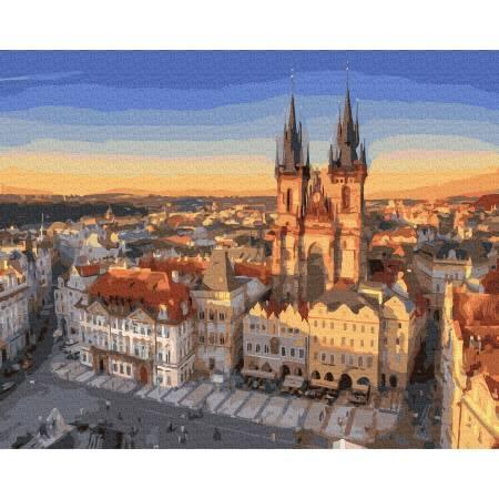 Панорама на Прагу