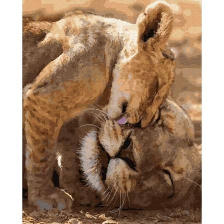 Картина по номерам Любовь к маме GX39154, Rainbow Art