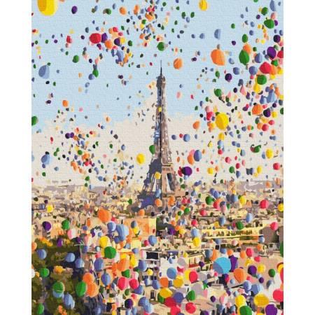 Картина по номерам Праздничный Париж GX29214, Rainbow Art