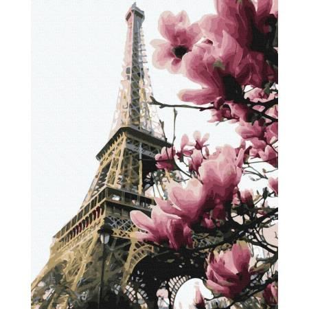 Картина по номерам Цветение Парижа GX39469, Rainbow Art
