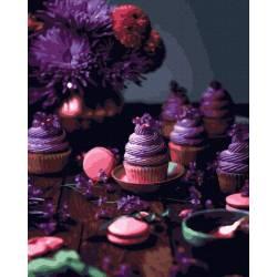 Фиолетовый десерт