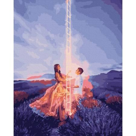 Картина по номерам Лестница любви GX39509, Rainbow Art