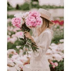 В цветочном поле