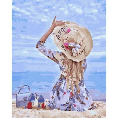 Картина по номерам На песке GX39515, Rainbow Art