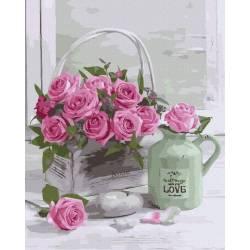 Натюрморт из роз