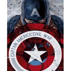 Капитан Америка со щитом
