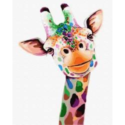 Улыбающийся жираф