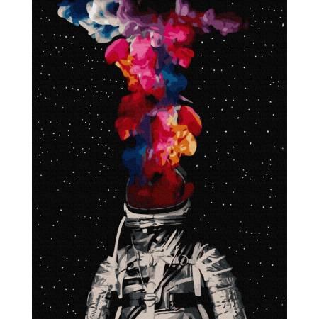 Картина по номерам Открытый космос  GX35331, Rainbow Art