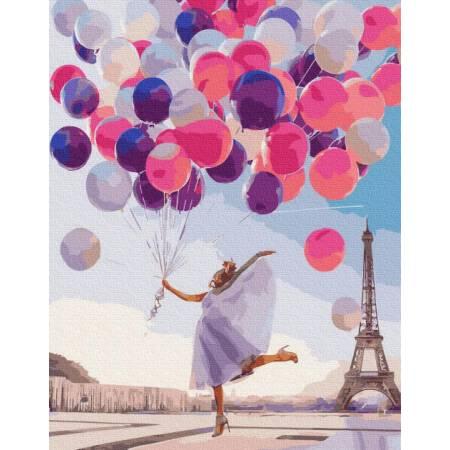 Картина по номерам Яркие краски Парижа BRM36636, Rainbow Art