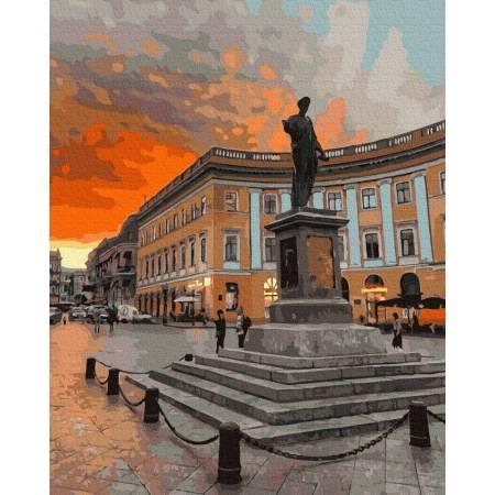 Картина по номерам Памятник дюку де Ришелье  GX39131, Rainbow Art