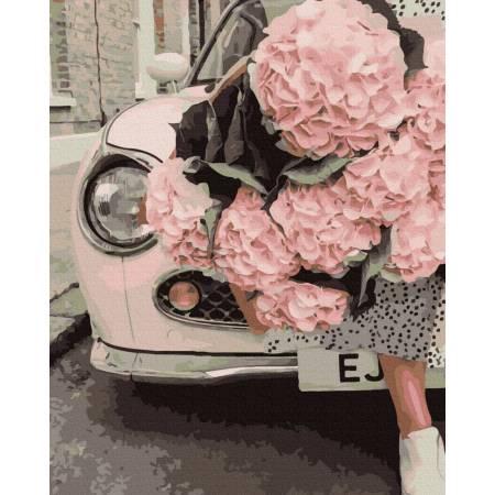 Картина по номерам Нежно-розовое великолепие  GX39338, Rainbow Art