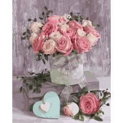 Натюрморт чайные розы