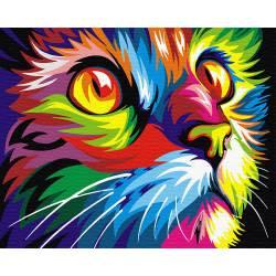 Кот в красках