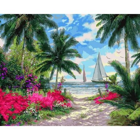 Картина по номерам Морской бриз Q2253, Mariposa
