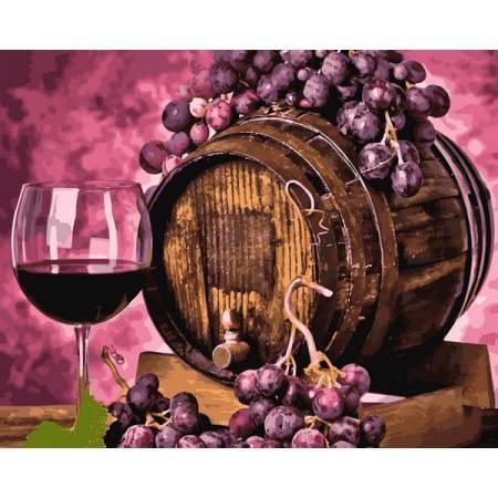 Вино в дубовой бочке