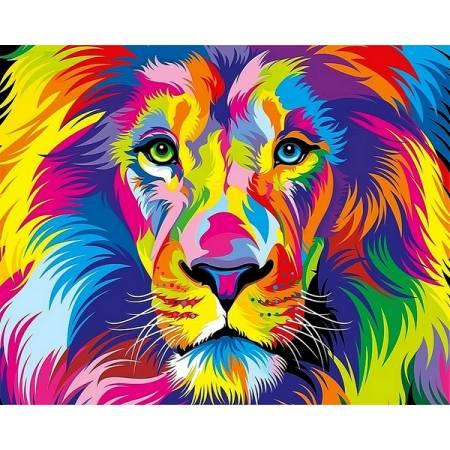 Роскошный лев