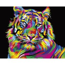 Красота радужного тигра