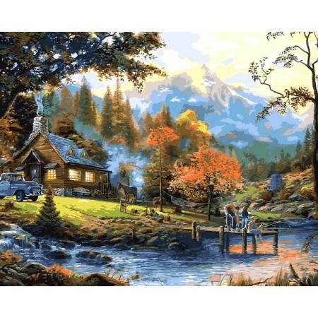 Картина по номерам Загородная жизнь  VP1353, Babylon
