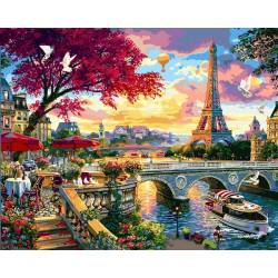 Красота цветущего Парижа